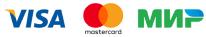 Логотипы платёжных систем