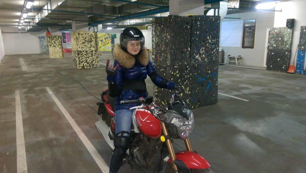 Фото учеников на мотоцикле