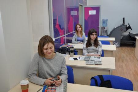 Ученики на занятиях