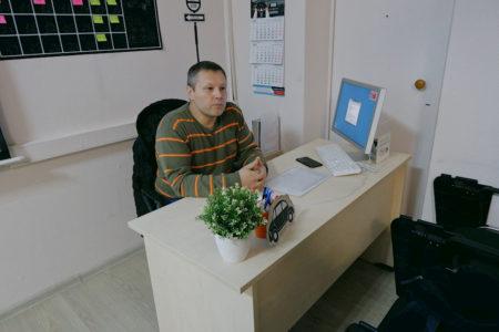 Инструктор в классе