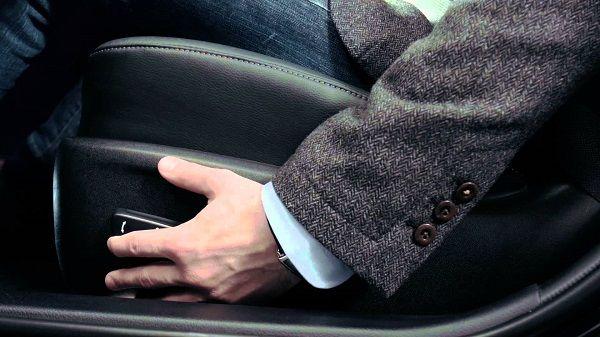 Регулировка сидения водителя